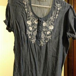 St. John's Bay blouse size large